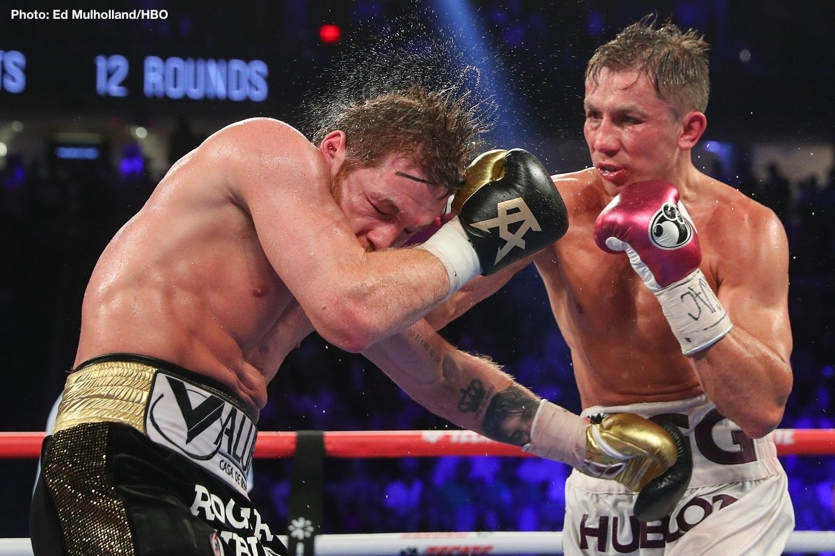 Gennady Golovkin - Former middleweight king Gennady Golovkin, for some fans still the best 160 pounder in the sport right now, is reportedly close to making a decision on which TV network he will sign with as he resumes his career post-HBO. As per ESPN.com, Triple-G has narrowed it down to either ESPN or DAZN. Tom Loeffler, promoter of Golovkin, says his fighter will make his final decision before the end of the year.