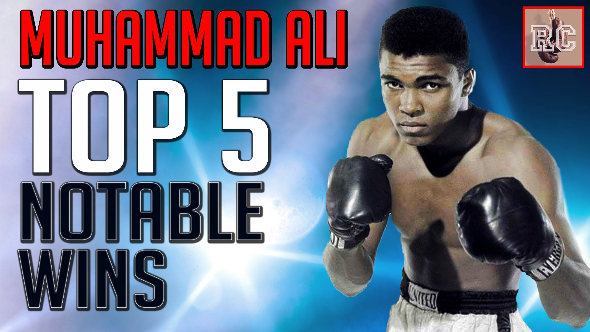 Muhammad Ali - https://www.youtube.com/watch?v=TLeijpHaFdA
