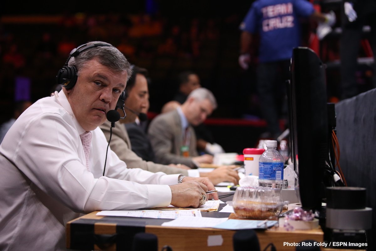 Teddy Atlas - Commentator/trainer Teddy Atlas has decided to go back to what he loves best of all: training fighters. ESPN.com has reported how Atlas will work with unbeaten light-heavyweight Oleksandr Gvozdyk in the lead-up to the 15-0(12) contender's shot at reigning WBC 175 pound king Adonis Stevenson, set for December 1st.