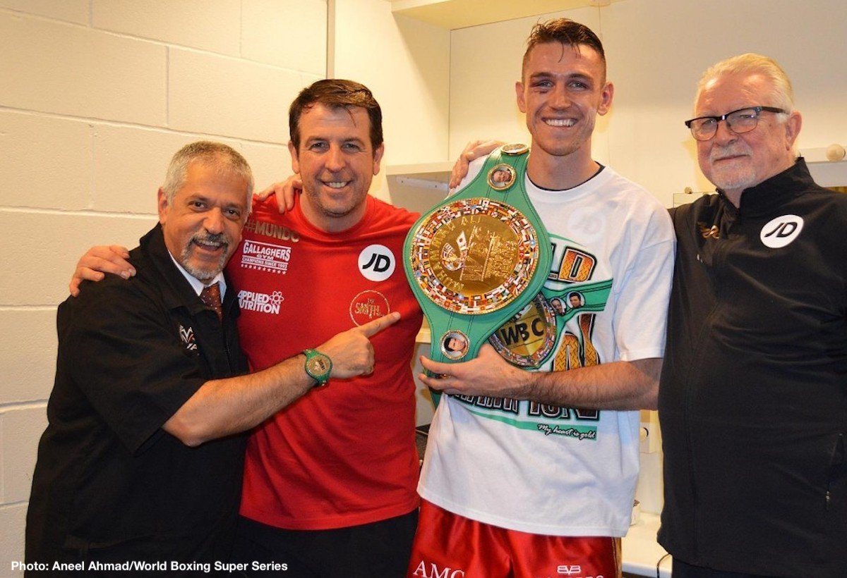 Callum Smith George Groves Boxing News British Boxing