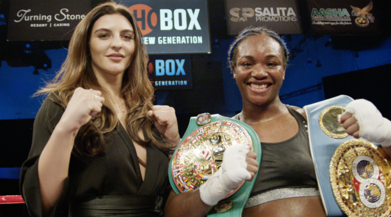 Christina Hammer Claressa Shields Boxing News