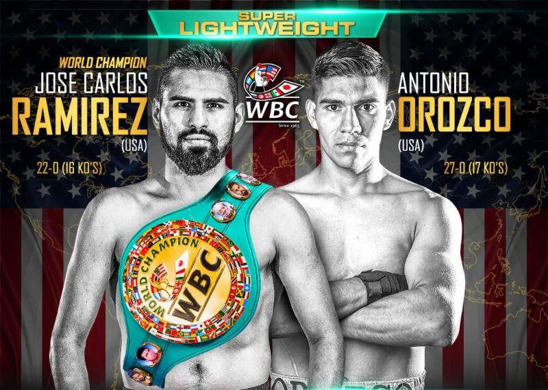 Antonio Orozco - TOP RANK, INC. PRESENTS: