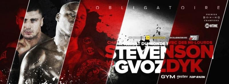 """Adonis Stevenson - Fans of boxing, prepare your agenda: World Boxing Council (WBC) and lineal light heavyweight world title fight between the champion Adonis """"Superman"""" Stevenson (29-1-1, 24 KOs) and the mandatory challenger, Oleksandr """"The Nail"""" Gvozdyk (15-0-0, 12 KOs), will be held December 1 at Videotron Center in Quebec City."""