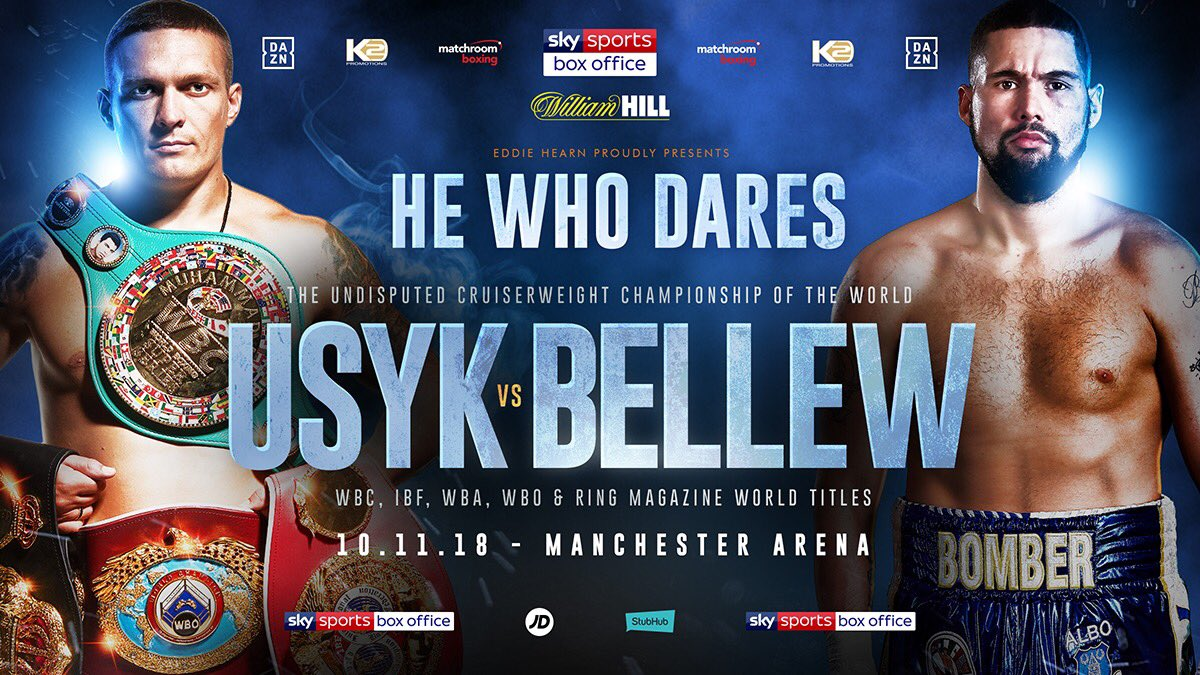 Aleksandr Usyk Tony Bellew Boxing News British Boxing Top Stories Boxing