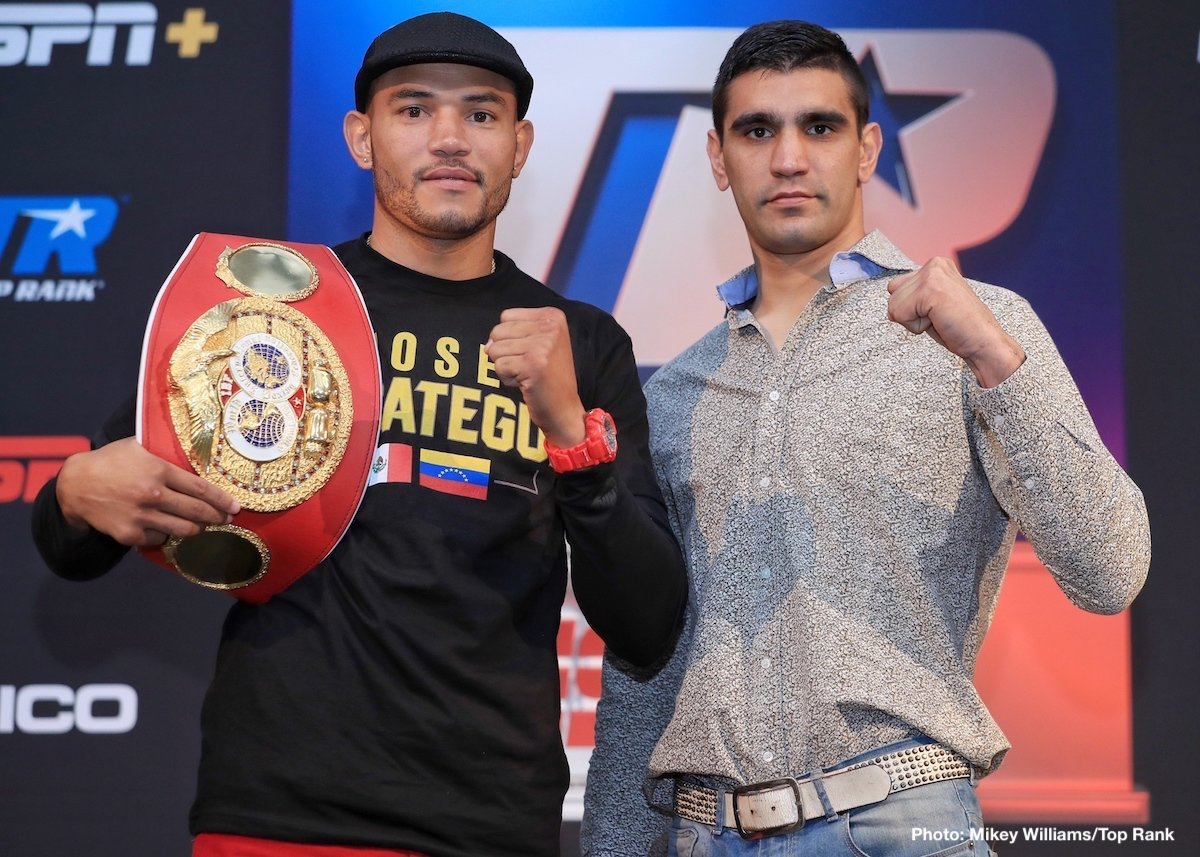 Jerwin Ancajas - IBF super middleweight champion Jose Uzcategui to battle Ezequiel Maderna in 10-round non-title contest - Jerwin Ancajas to defend IBF 115-pound title against Alejandro Santiago.