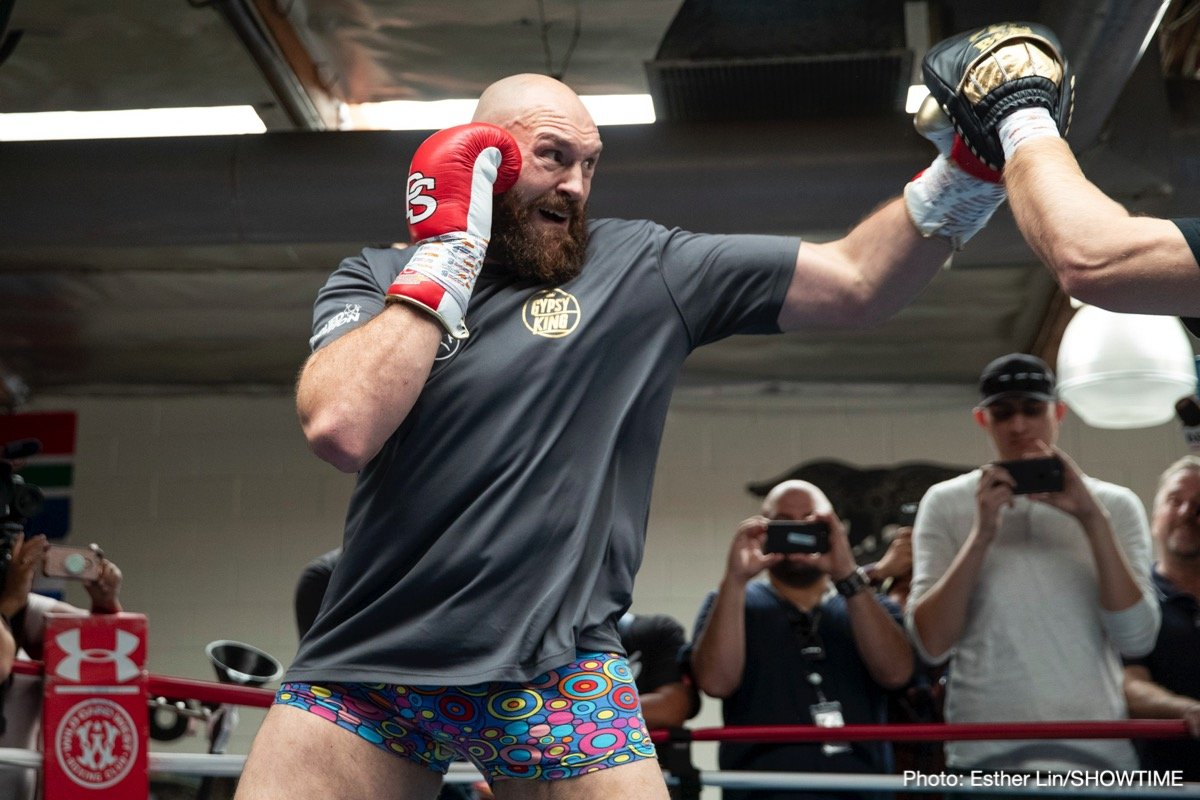 Deontay Wilder Tyson Fury Boxing News British Boxing Top Stories Boxing