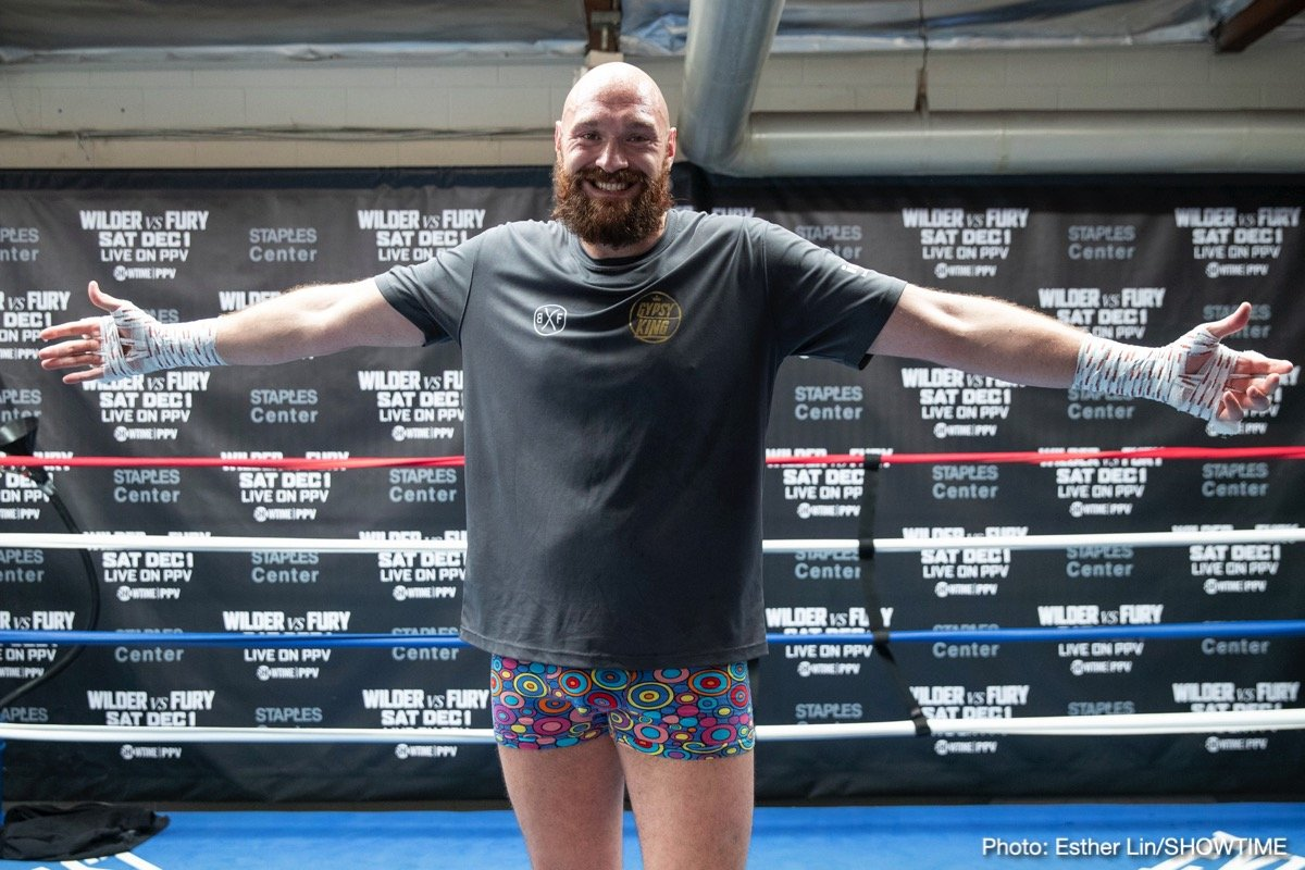 Tyson Fury Boxing News Top Stories Boxing