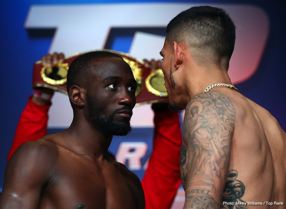 Terence Crawford Boxing News