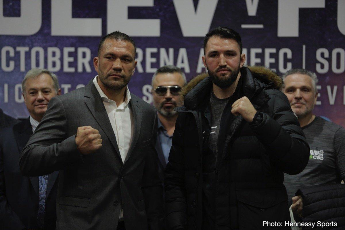 Hughie Fury Kubrat Pulev Boxing News British Boxing Top Stories Boxing