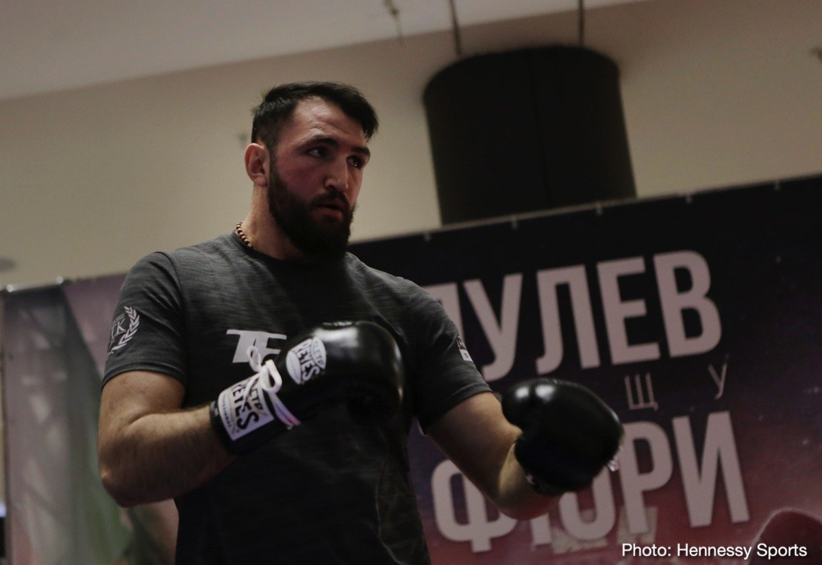 Hughie Fury Kubrat Pulev Boxing News British Boxing