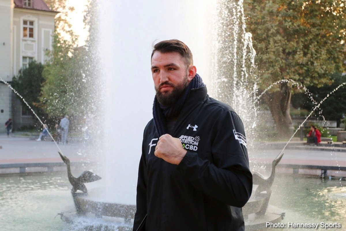 Hughie Fury Kubrat Pulev Boxing News British Boxing