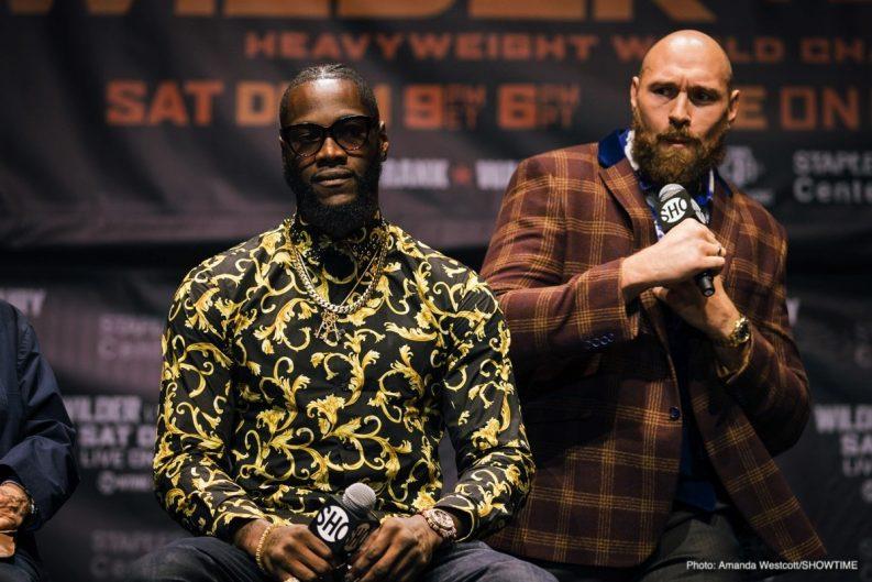 Deontay Wilder Tyson Fury Boxing News