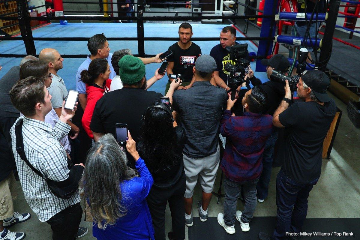 Jose Pedraza Vasyl Lomachenko Boxing News