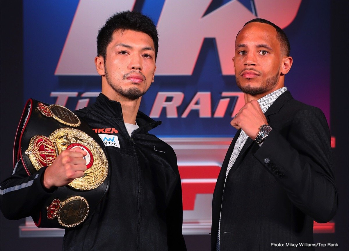 "Antonio DeMarco - There has been a lot of talk about future big-name opponents for WBA middleweight champion Ryota Murata. For now, he's focused on the task at hand, Saturday's title defense against Rob ""Bravo"" Brant at MGM's Park Theater in Las Vegas."