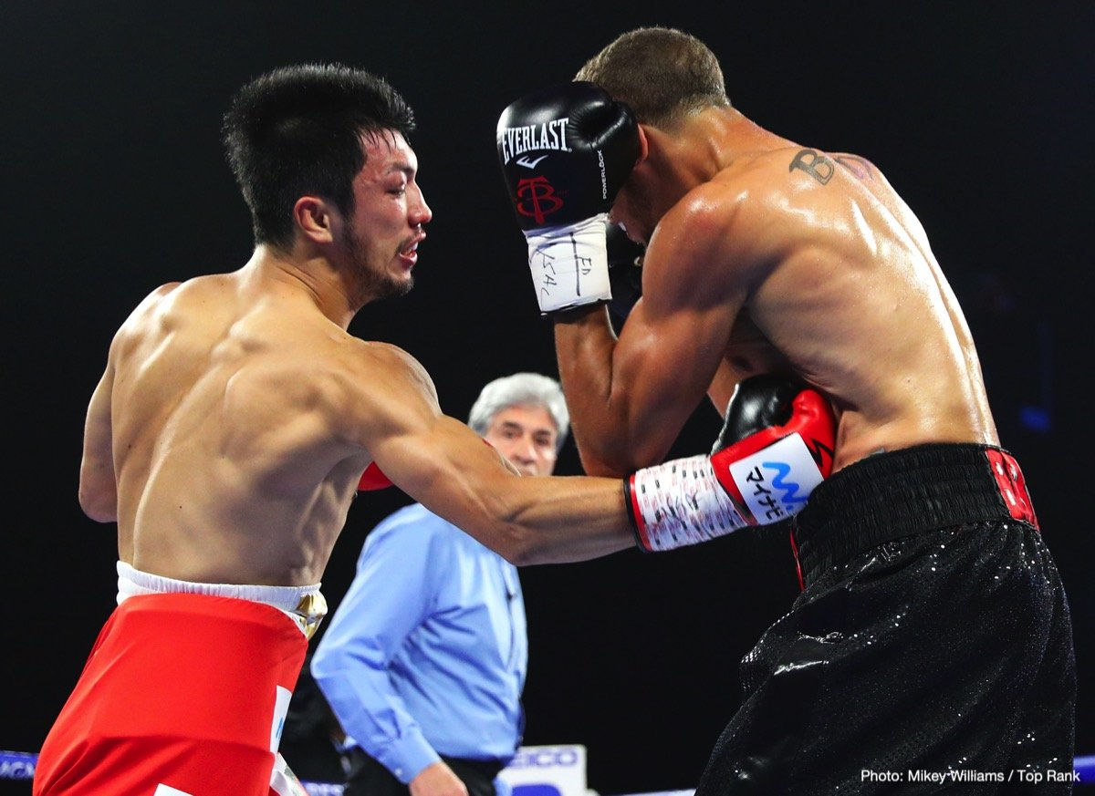 "Ryota Murata -  Two days before Christmas, American fight fans will be treated to a special fistic stocking stuffer, a world championship tripleheader plus the return of the former pound-for-pound king and future Hall of Famer, Roman ""Chocolatito"" Gonzalez."