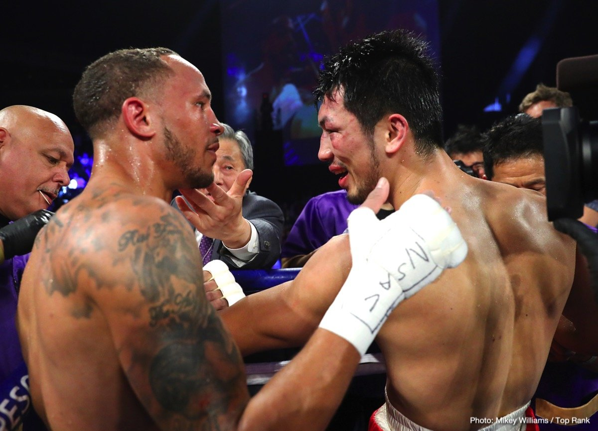 "Rob Brant, Ryota Murata - Saturday night at the Park Theater, Las Vegas, Rob ""Bravo"" Brant (24-1-0 16KOs), pulled off a major upset over hot middleweight prospect Ryota Murata (14-2-0 11KOs).  Not many gave Brant much of a chance against the hard punching, former 2012 Olympic Gold medalist."
