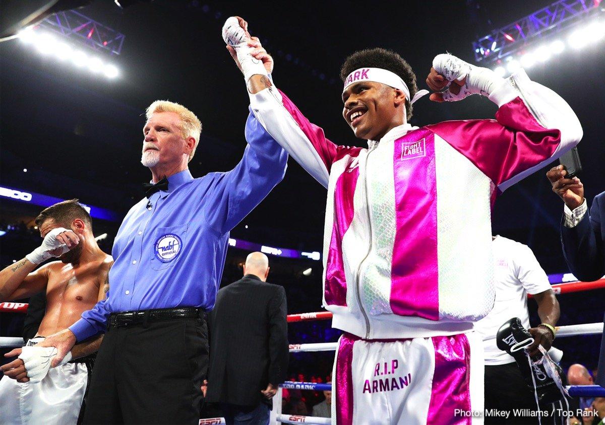 Shakur Stevenson Boxing News