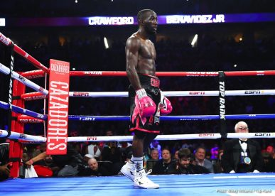 Jose Benavidez Jr. Shakur Stevenson Terence Crawford Boxing News Boxing Results Top Stories Boxing