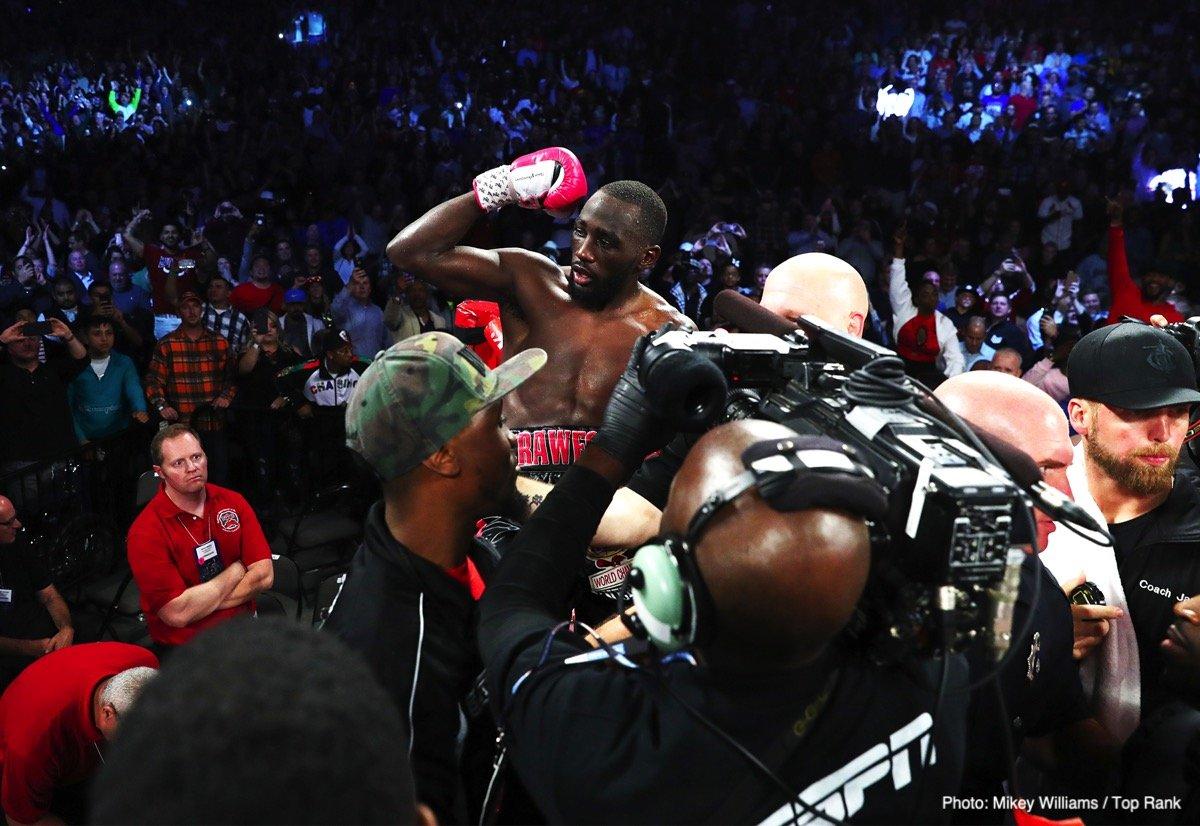 Carlos Adames Jose Benavidez Jr. Shakur Stevenson Terence Crawford Boxing News Boxing Results Top Stories Boxing