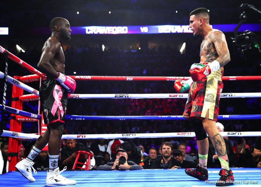 Jose Benavidez Jr., Shakur Stevenson, Terence Crawford - Boxing News