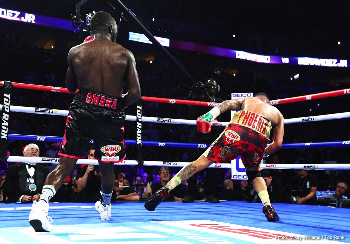 Terence Crawford says Canelo avoided Jermall and Andrade