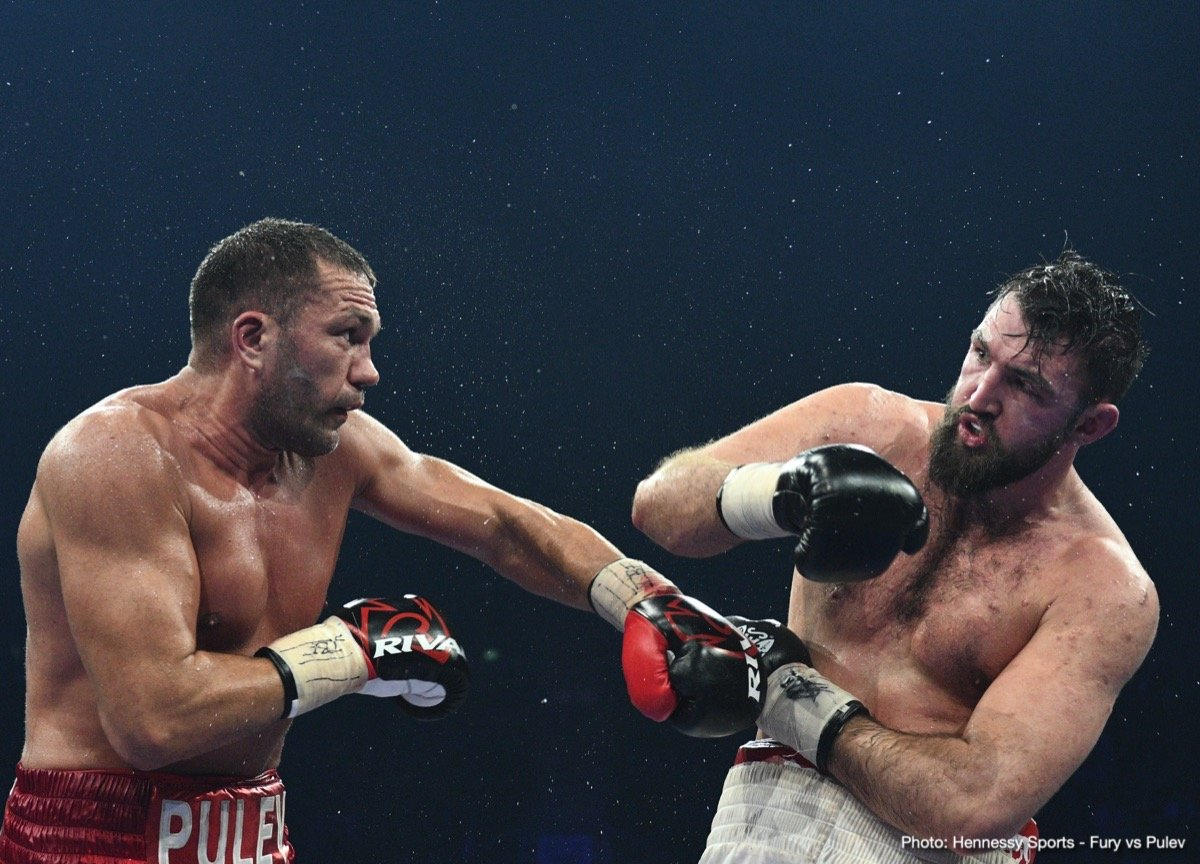 Robert Helenius - Kubrat Pulev, who is very much in position for a shot at Anthony Joshua, is likely to face Robert Helenius on the under-card of the April 20th clash between WBO welterweight champ Terence Crawford and challenger Amir Khan – so reports Dan Rafael of ESPN.com. The fight, one that would be the first fight in Pulev's new deal with Top Rank, is currently being worked on.