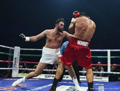 Hughie Fury Kubrat Pulev Boxing News Boxing Results