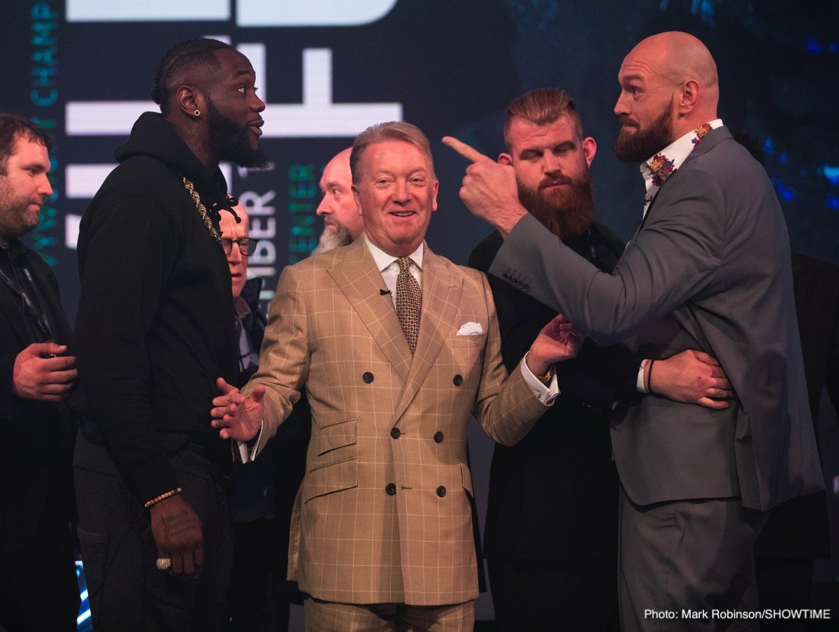 "Deontay Wilder, Tyson Fury - As fight fans know, heavyweight stars Deontay Wilder and Tyson Fury will fight their fascinating rematch on February 22, with both men vowing to ""settle it"" by way of scoring an emphatic win (both men are talking a KO). But whoever emerges victorious in Las Vegas, be it the WBC champ or the proud claimant of the lineal crown, these two may not have seen the last of each other."