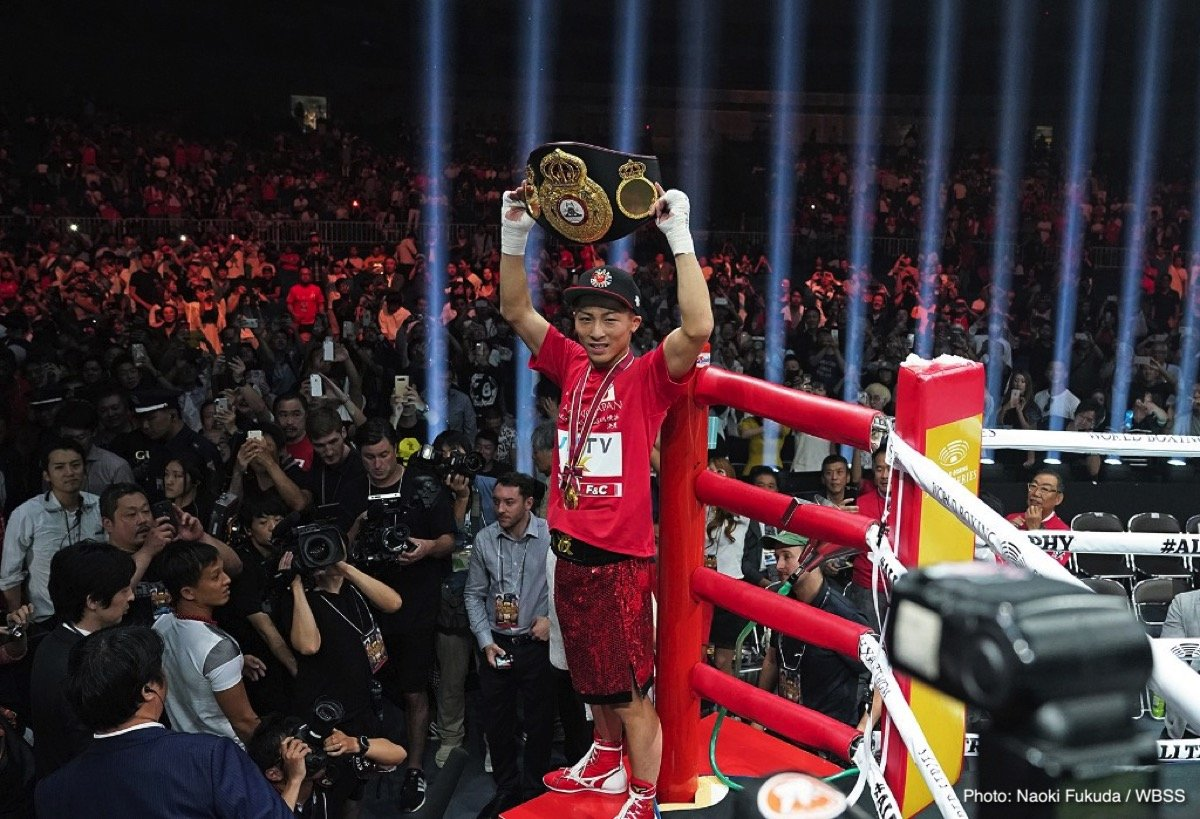 "Naoya Inoue - Let's face it-unless you're a hardcore fan, you're probably not going to associate bantamweight boxers with the terms ""power-puncher"" or ""knock-out artist"". Chances are, the first names that you'll think of are heavyweights like Mike Tyson, or George Foreman. If asked to name a non-heavyweight power puncher, it's highly likely that Thomas Hearns and Julian Jackson would be among the first fighter you'd list.  A younger fan might be inclined to mention Gennady Golovkin, perhaps, while someone older might consider naming someone like Bob Foster. Either way, it would probably take a boxing fan a little while before they think of including someone from the bantamweight division on a list of all time great punchers."