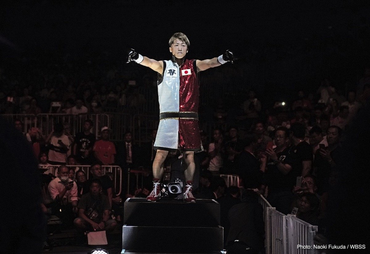 """Naoya Inoue - If you haven't yet seen Japanese star and current WBA bantamweight champion Naoya Inoue fight, then make amends now, and go and watch this lethal master puncher do his stuff. You might pick his most recent fight, his one-round destruction of the previously unstopped Juan Carlos Payano if you want to check out his incredible handiwork. Or maybe you could take a look at Inoue's equally impressive annihilation of another previously unstopped foe in Jamie McDonnell; yet another first-round KO victim of """"The Monster."""""""