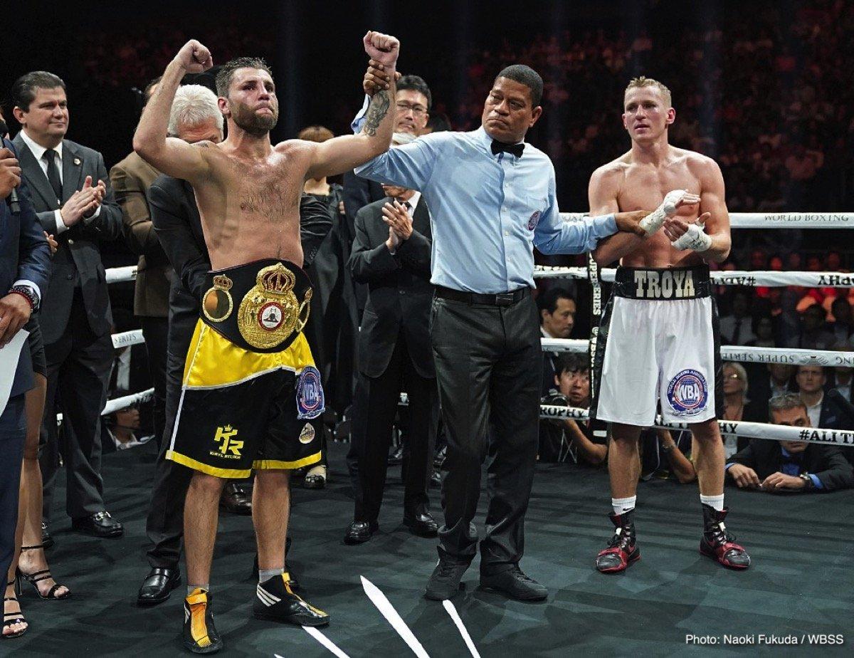 Eduard Troyanovsky Kiryl Relikh Naoya Inoue Boxing News Boxing Results