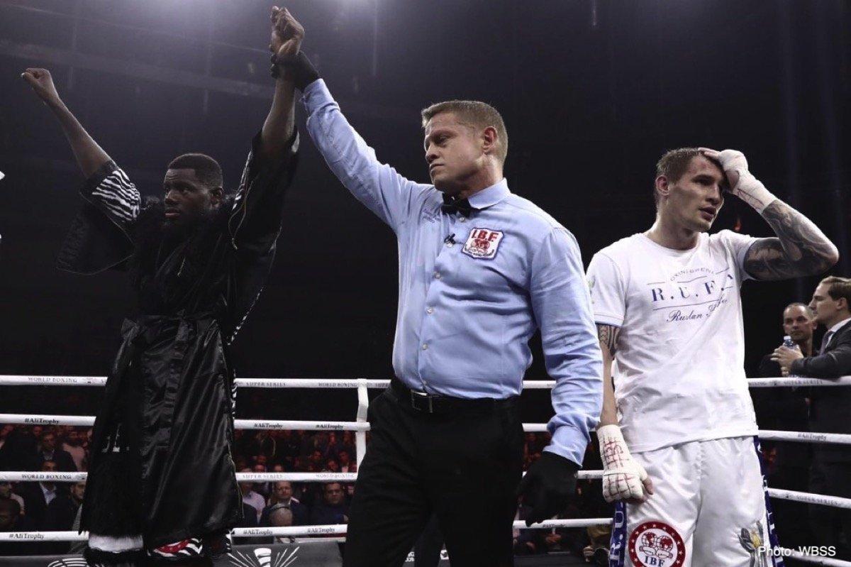 Andrew Tabiti, Zolani Tete - Boxing News