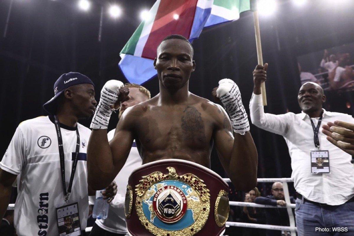 Andrew Tabiti Zolani Tete Boxing News Boxing Results