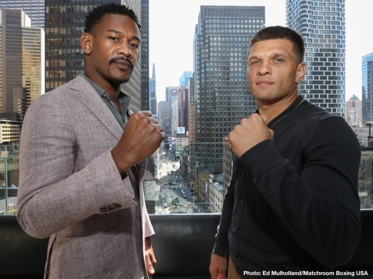 Daniel Jacobs Sergiy Derevyanchenko Boxing News Top Stories Boxing