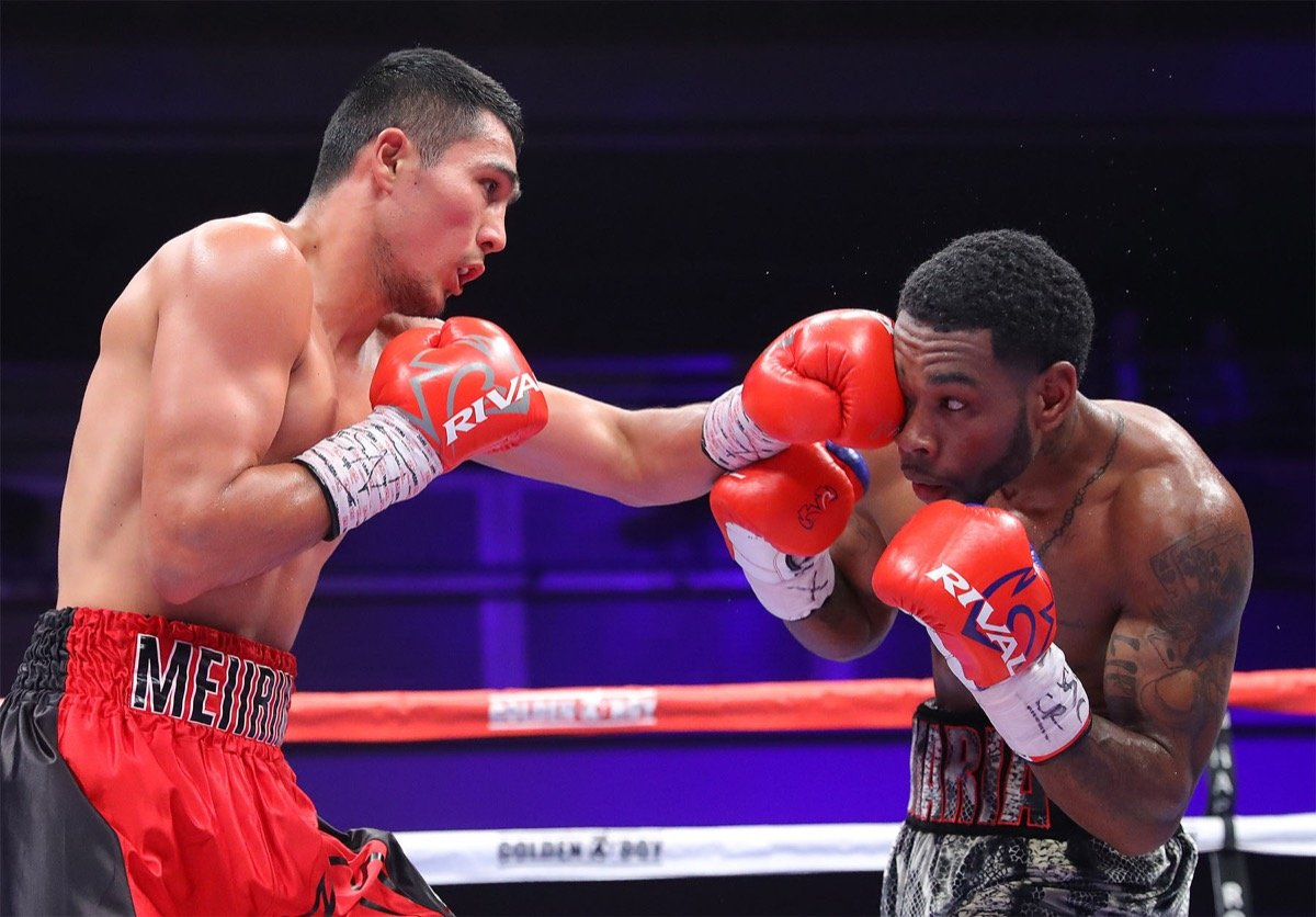 Abraham Rodriguez Angel Acosta Boxing News Boxing Results