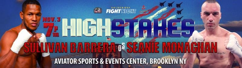 """Seanie Monaghan - LeShawn """"Lightning"""" Rodriguez loves being part of boxing's streaming revolution. The hard-hitting middleweight is eager to make a statement on Saturday, November 3 when fans across the United States and worldwide can see in him action from The Aviator in Brooklyn, New York as part of a Facebook Watch live broadcast."""