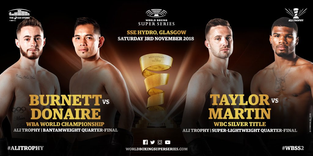 Nonito Donaire, Paul Butler, Siar Ozgul, Viktor Postol - Viktor Postol and Paul Butler have been confirmed as the two reserve fighters when the World Boxing Super Series comes to The SSE Hydro in Glasgow, Scotland on November 3.