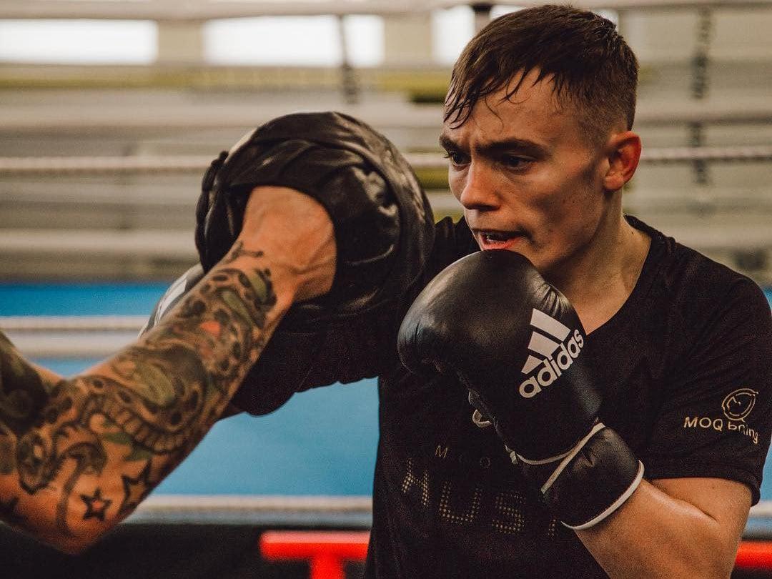 Ryan Farrag Sunny Edwards British Boxing Press Room