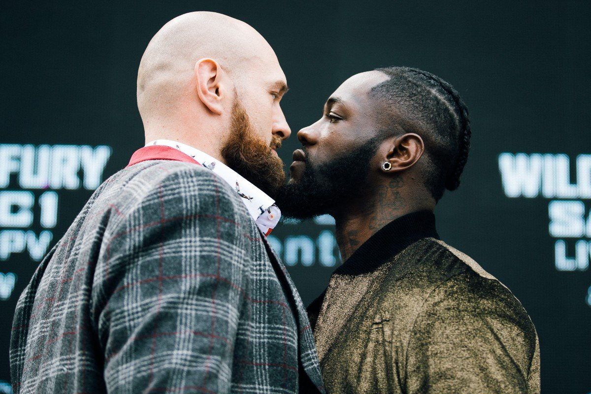 Deontay Wilder Tyson Fury Boxing Interviews Boxing News Top Stories Boxing