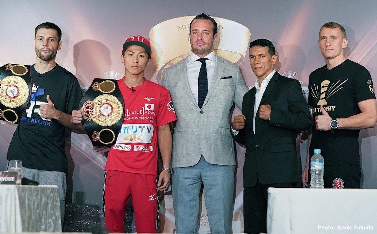 Juan Carlos Payano Kiryl Relikh Naoya Inoue Boxing News Top Stories Boxing
