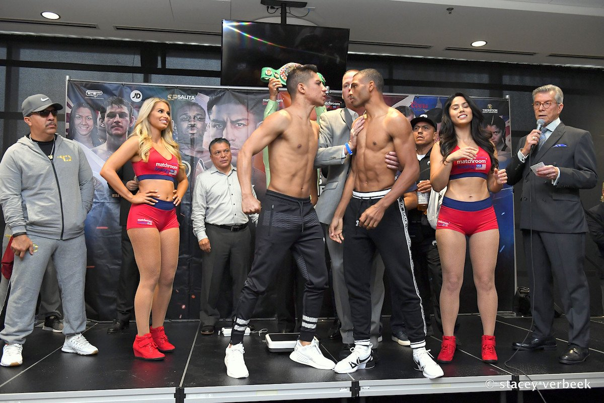 Jessie Vargas, Thomas Dulorme - Back in May of this year Eddie Hearn announced a major billion dollar deal with the streaming service DAZN. Hearn's Matchroom Boxing USA seemed poised to put a dent in the competition boasting the biggest yearly budget. A little over 4 months later and Eddie's claims of possessing a few tricks up his sleeve come off as hallow judging by the first  two cards on the schedule. Back in the early part of summer this hack-of-a-scribe did a piece on Eddie Hearn and DAZN, wondering how they would fit in an already crowded room of networks.