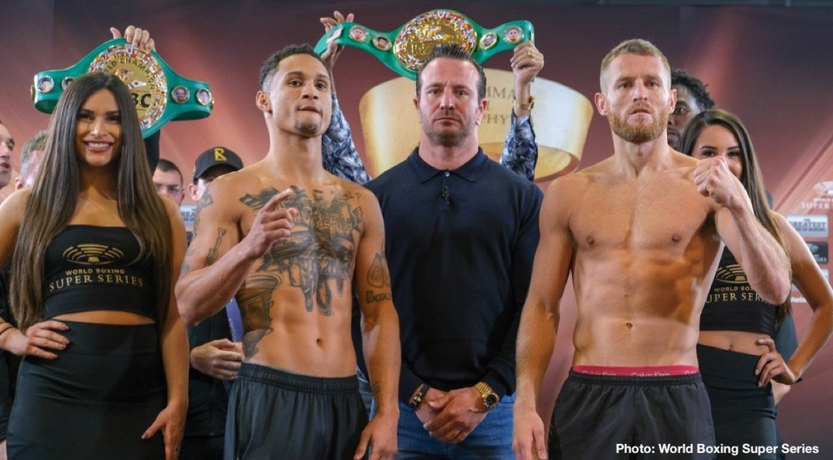Ivan Baranchyk - Regis Prograis & Terry Flanagan and Ivan Baranchyk & Anthony Yigit all make weight ahead of Saturday's Ali Trophy Quarter-Finals at UNO Lakefront Arena in New Orleans.
