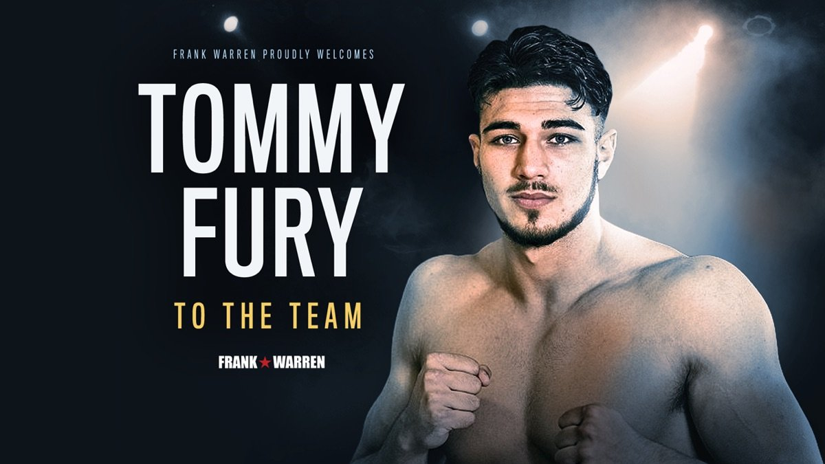 Tommy Fury British Boxing Press Room