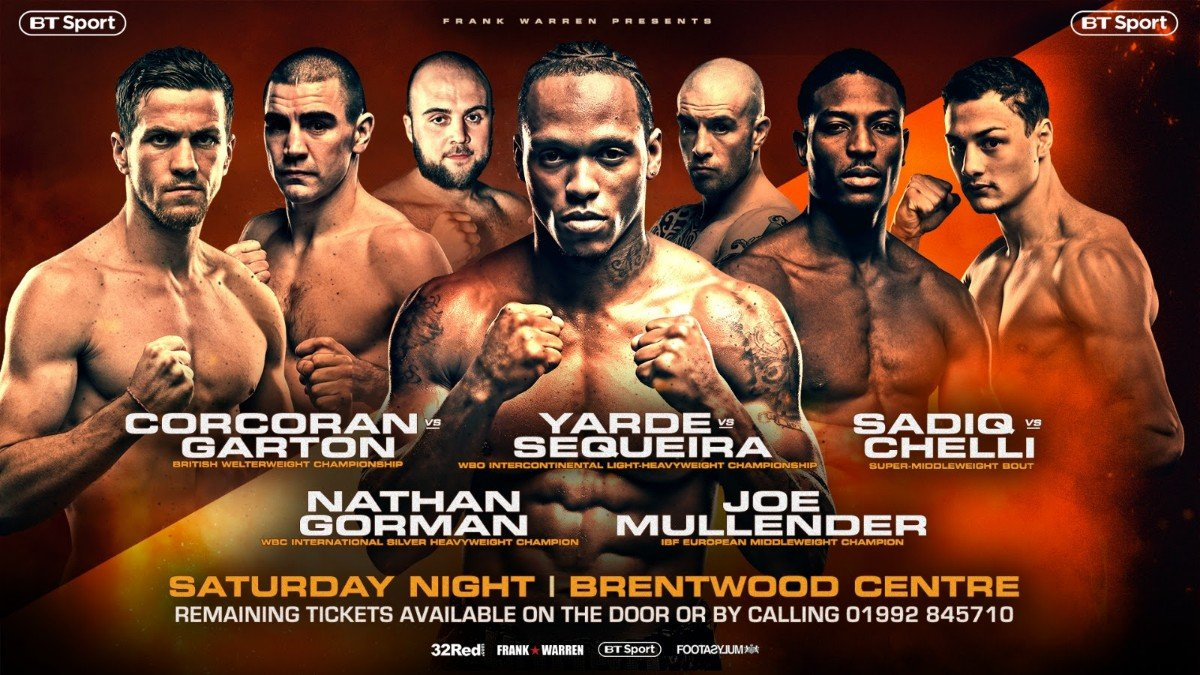 Anthony Yarde Frank Warren Gary Corcoran Nathan Gorman Boxing News British Boxing