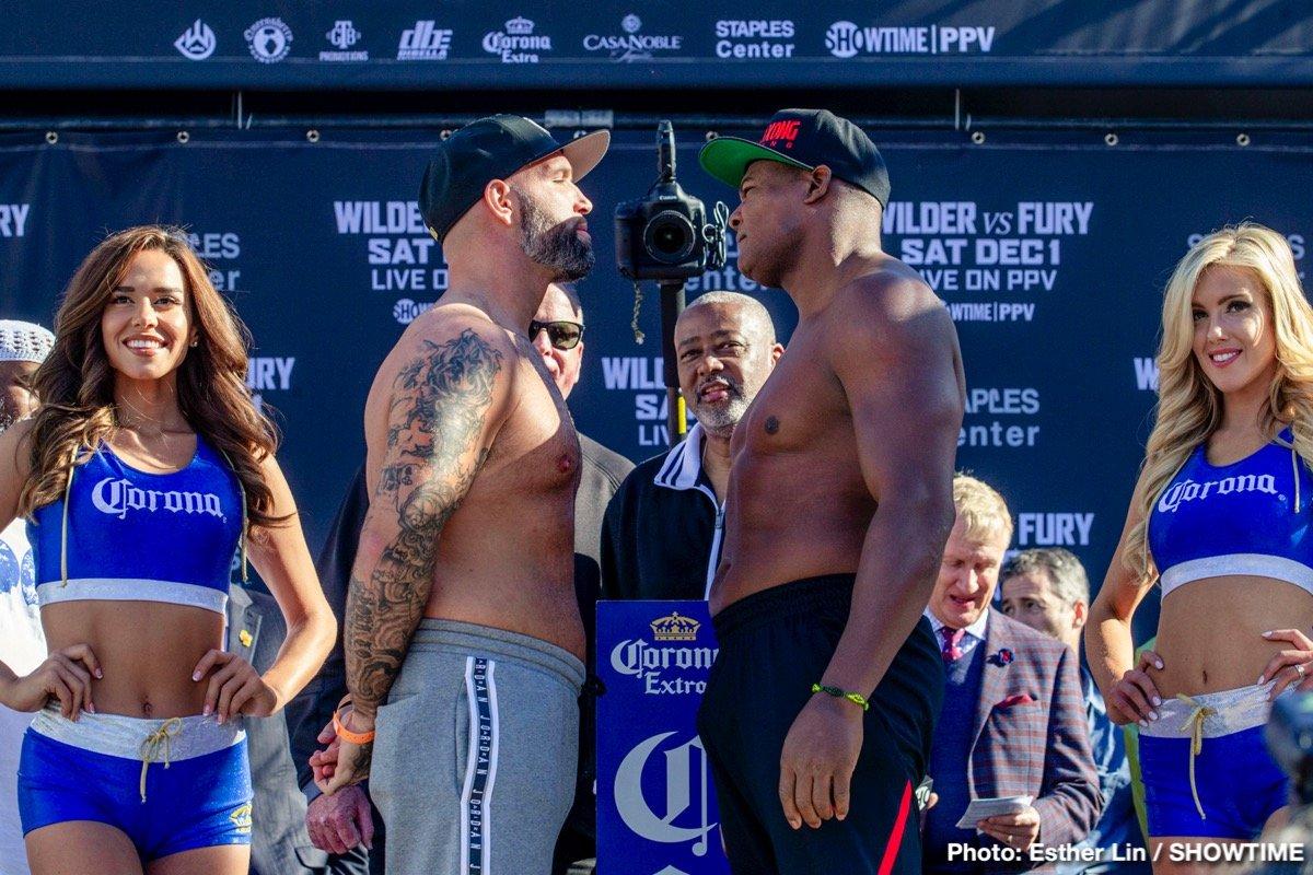 Deontay Wilder Jarrett Hurd Luis Ortiz Tyson Fury Boxing News British Boxing Top Stories Boxing
