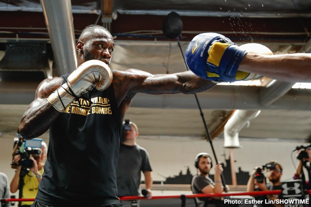 """Anthony Joshua, DAZN, Deontay Wilder, Dominic Breazeale - It's a sign of how the sport has changed when there is reported to be a staggering $100 million on the table for WBC heavyweight king Deontay Wilder. All he has to do to get it, say reports first broken by RingTV.com, is to sign up for a three-fight deal with the seemingly endlessly deep-pocketed folks at DAZN. The first fight would be against Dominic Breazeale, net $20 million for """"The Bronze Bomber,"""" and then there would be not one but two fights with rival heavyweight champ Anthony Joshua, net $40 million each for the unbeaten monster puncher."""