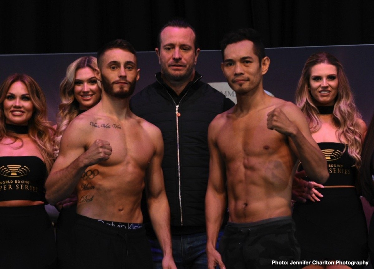 Josh Taylor, Nonito Donaire, Ryan Burnett, Ryan Martin - Josh Taylor & Ryan Martin and Ryan Burnett & Nonito Donaire are ready for their hotly anticipated Ali Trophy Quarter-Finals at The SSE Hydro tomorrow in Glasgow, Scotland.