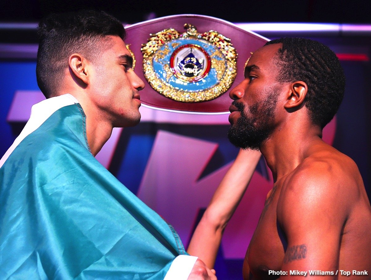 Gilberto Ramirez, Jesse Hart - This Friday night on ESPN+, Gilbert Ramirez and Jessie Hart meet in the ring for a rematch from a spirited effort two September's ago. Can Ramirez breakout of a recent funk of non-competitive opposition and show some of the potential he shined versus Arthur Abraham back in 2016? Or will Hart come out of the gates quicker the second time around to knock off the WBO 168-pound titleholder? One thing is for certain both men need to right a wrong coming off their first fight.