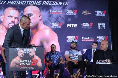 Chuck Liddell Tito Ortiz MMA News