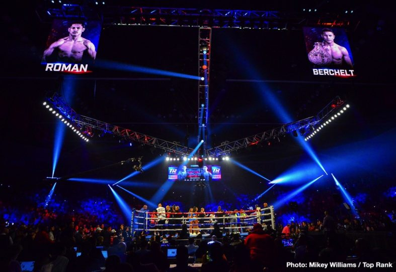 Miguel Berchelt Miguel Roman Boxing News Boxing Results Top Stories Boxing